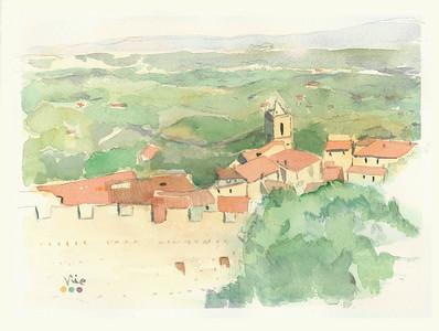 No 236 Les toitures de la Provence