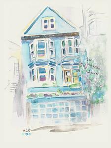 No 363 La maison bleue
