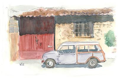 No 7 Original Austin Mini Wagon