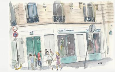 No 6 La rue Dupuytren, Paris