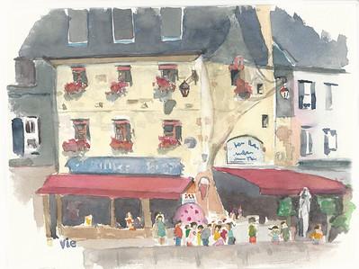 No  17 La crèmerie à Honfleur