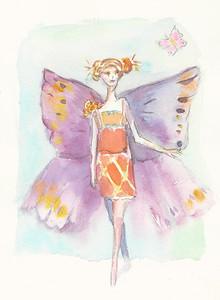 No 74 La femme papillon