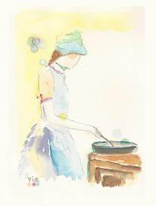 no 293 La cuisinière