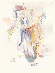 No 259 Une danseuse du ventre
