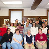 Jeane took her first teaching job at Spalding University in the Leadership Education program.  This is her first American cohort.  November, 2003