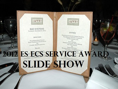 2012 Service Award Dinner Slide Show