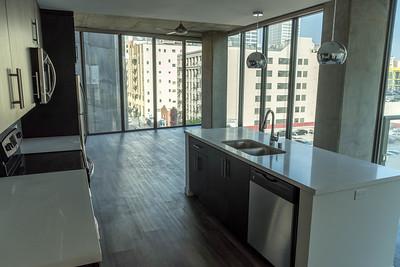 7th floor vacant unit.