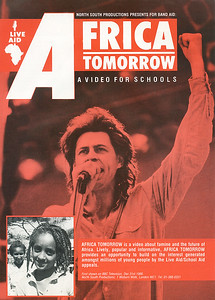 1- Publicity Flyer for BBC Film 'Africa Tomorrow'