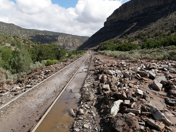 Track Washout, July 2012