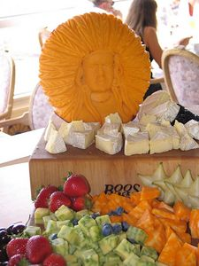 More cheese display