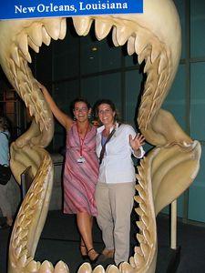 In the New Orleans Aquarium - aaaaah