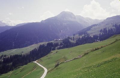 """Dad labeled this photo """"Countryside near Wergenstein Switzerland."""""""