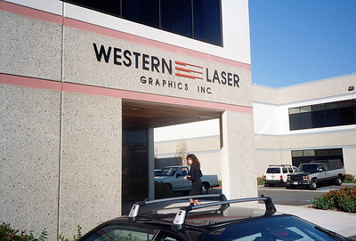 Western Laser Graphics Inc., Valencia, CA, 1991 - 1 of 8