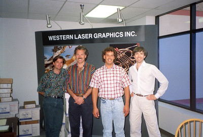 Western Laser Graphics Inc., Valencia, CA, 1991 - 5 of 8