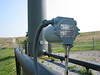 Flow meter at the flare