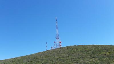 Work at Cerra Bolo radio site CREBC