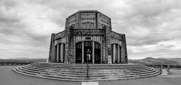 Vista House View, Historic Columbia River Highway, Oregon