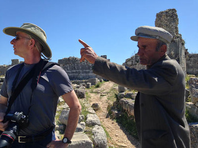 At Xanthos Ruins, Patara, Turkey