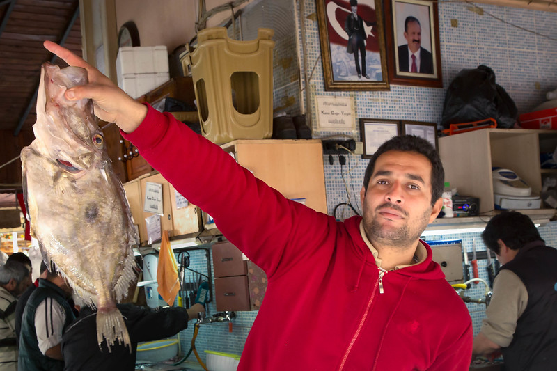 Handsome Man With Ugly Fish - Fethiye, Turkey