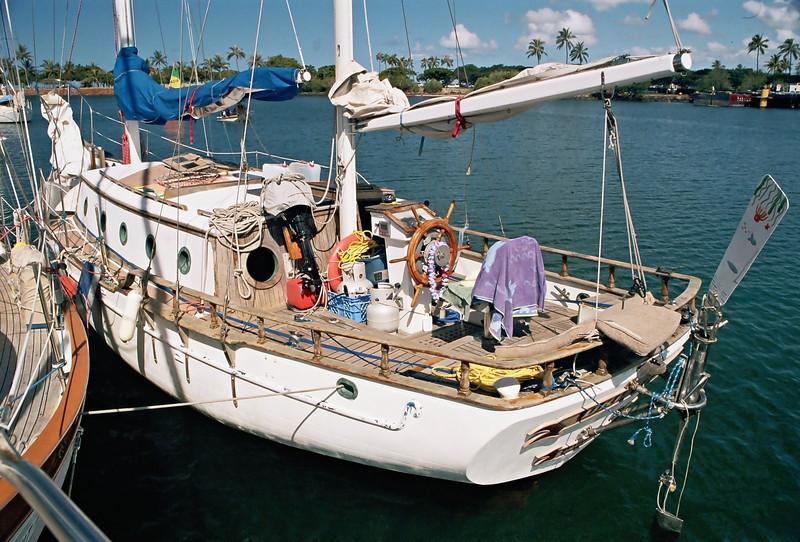 Drifter at Hawaiin Yacht Club