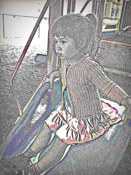 Samantha  on Slide
