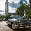 A 1958 Cadillac Series 62, owned by Steven and Mary Lee Lachowetz, of South Hadley, on display at Springfield Business Improvement District's weekly Monday night Cruise Night at Court Square. (Steven E. Nanton photo)
