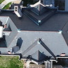 Rectory roof from above