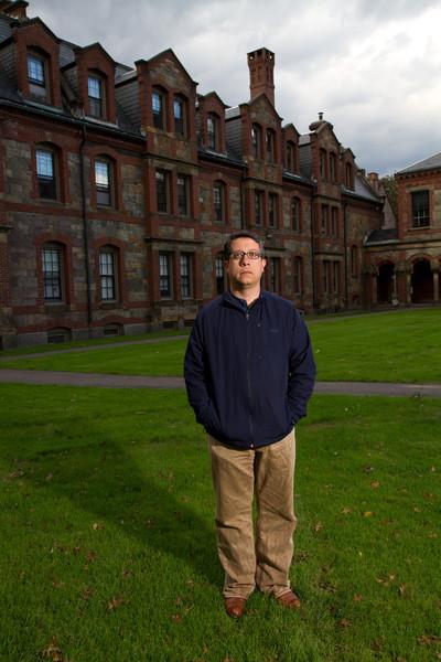 Man at Episcopal Divinity School/Lesley University. Fall 2011. Creative Commons BY-NC-SA 2011 Jason Pramas.