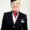 LONDON, UK: <br /> Ellie Barker from the British Airways Ambassador Team, photographed at Waterside, London Heathrow on 04 February 2013<br /> (Picture by Nick Morrish/British Airways)