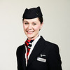 LONDON, UK: <br /> Hannah Inwoodfrom the British Airways Ambassador Team, photographed at Waterside, London Heathrow on 04 February 2013<br /> (Picture by Nick Morrish/British Airways)