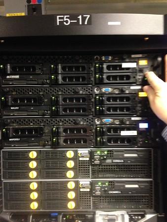 440 West Franklin Server Rack