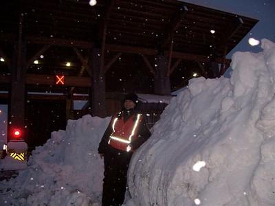 Snowy night, 2008