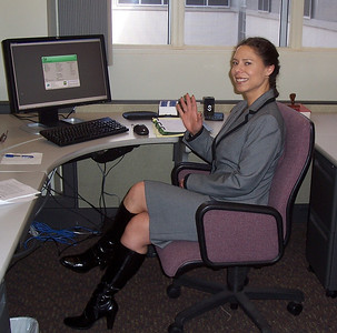At headquarters in Sacramento. March 2010.