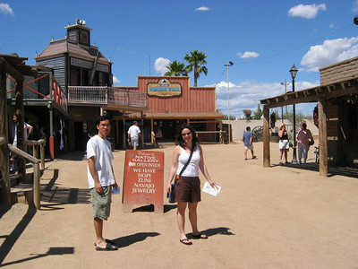 Roger and Sam hit the Wild West
