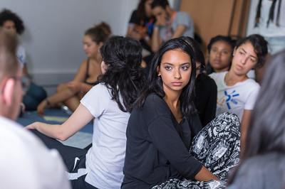 Ateliers suite au test de personnalité. La découverte des fonctionnements, des zones de conforts, des axes d'amélioration ... les filleuls apprennent sur eux même et sur les autres