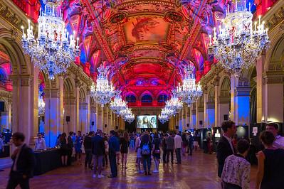 La soirée de clôture du Campus a lieue dans le cadre prestigieux de l'Hotel de Ville de Paris.