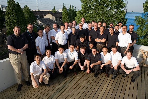 """Application centre held their """"Shanghai Rally"""" in our new facilities outside Shanghai."""