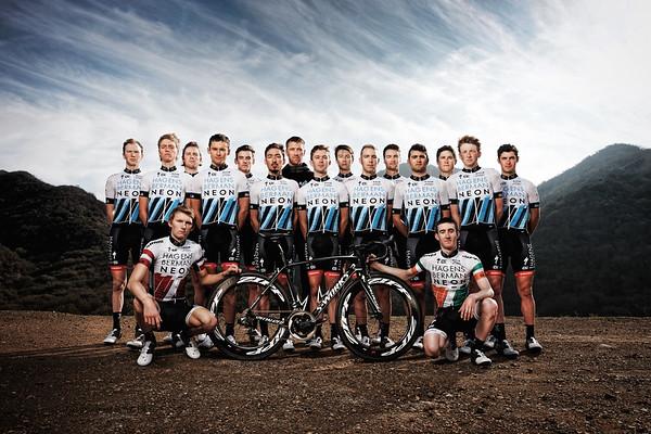 Axel Merckx with Axeon Hagens Berman Cycling Team. (Photo by Davey Wilson)