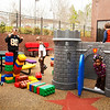 Children enjoy the Hoover Public Library's preschool outdoor play area