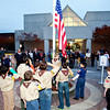 Each November the City of Hoover honors Veterans with a variety of programs and special events which include a reception on the Library Plaza and flag folding ceremonies each weekday at sunset. Check hooverlibrary.org for more information