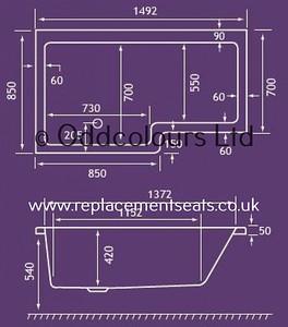 3483-Square-Edged-Shower-Bath-Spec