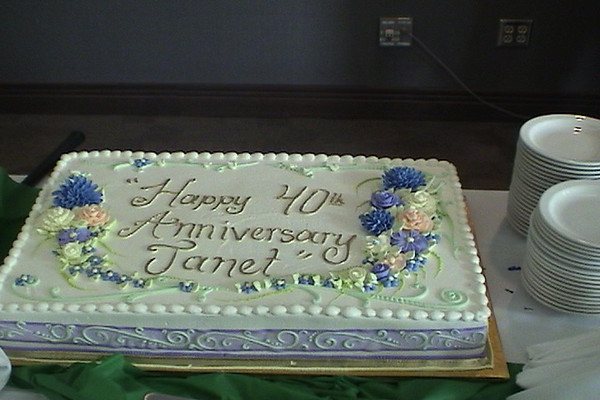 BCI - Janet's 40th Anniversary