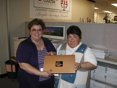 BCI - Peggy's Retirement April 2004