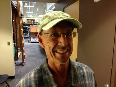 Tom Glenn at REI Tustin, August 23, 2013.