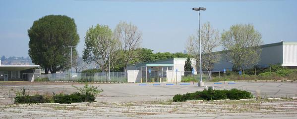 South parking lot, April 5, 2011.