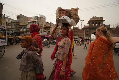 Cross Walk in Jodhpur