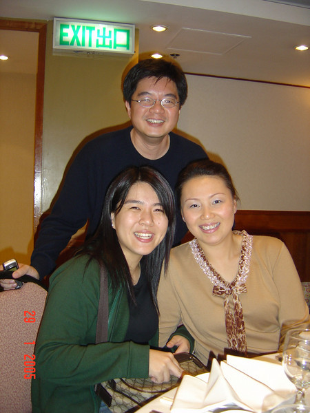 DSC01698 <br /> Karen, Edmond and Christine