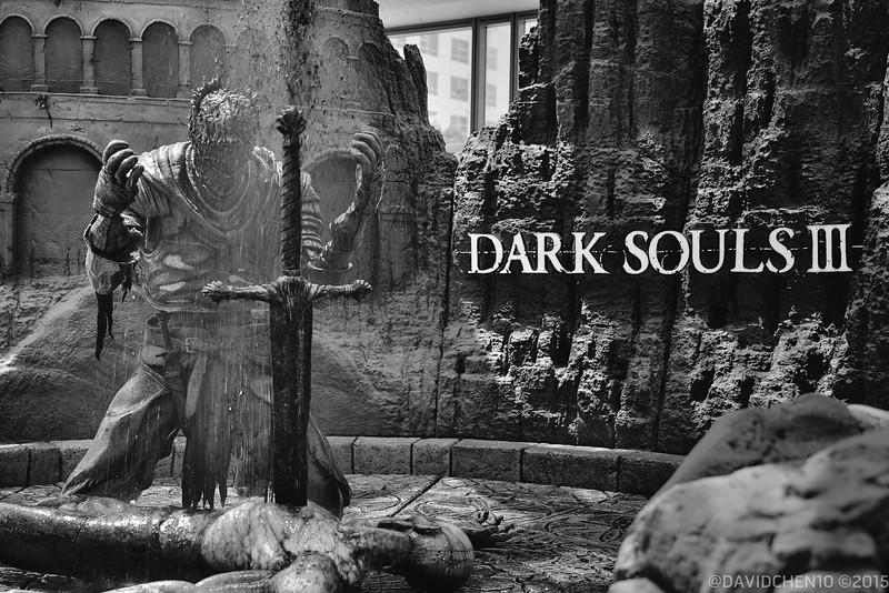 Dark Souls 3 fountain at E3 2015