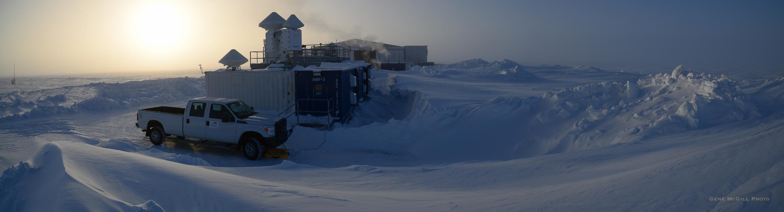 AMF-3 at Oliktok Point, North Slope of Alaska