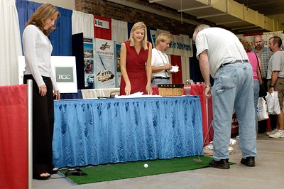 A hole in one won you a prize at the Public Entity Insurance boot. Kentucky EMS Conference and Expo.